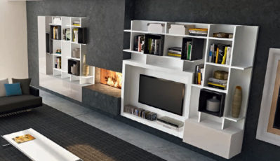 Living Room - TV - Veneran